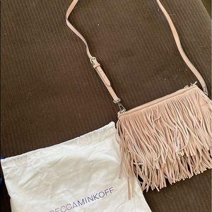 Rebecca minkoff fringe crossbody purse